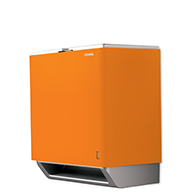 Orange Automatic Paper Towel Dispenser