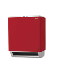 Red Automatic Paper Towel Dispenser