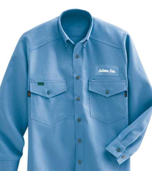 Flame resistant shirts fr work shirts cintas for Flame resistant work shirts